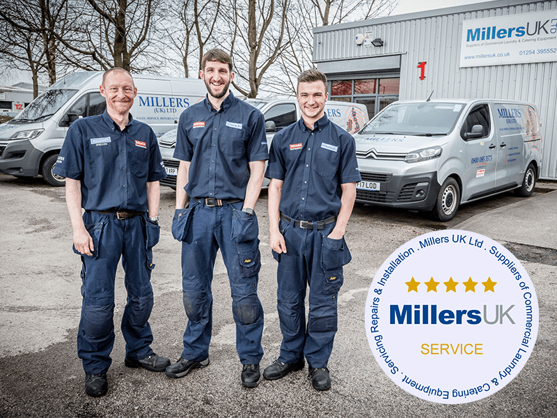 Service from Millers UK Banner
