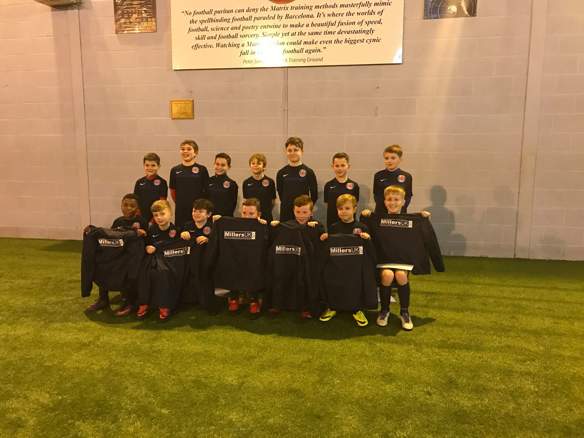 MillersUK Sponsor Football Team