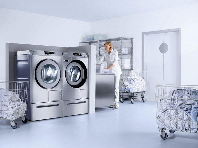 Commercial Washing Machines are not just Bigger.