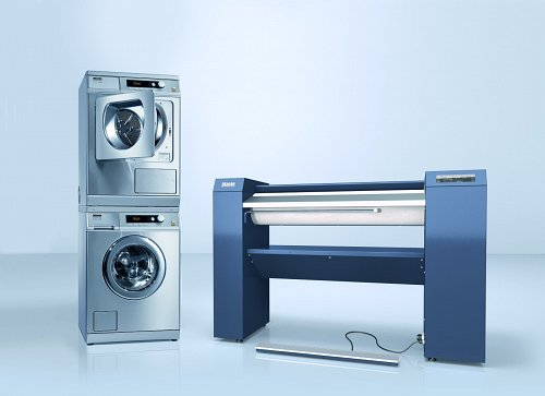 Miele Commercial Laundry Equipment.