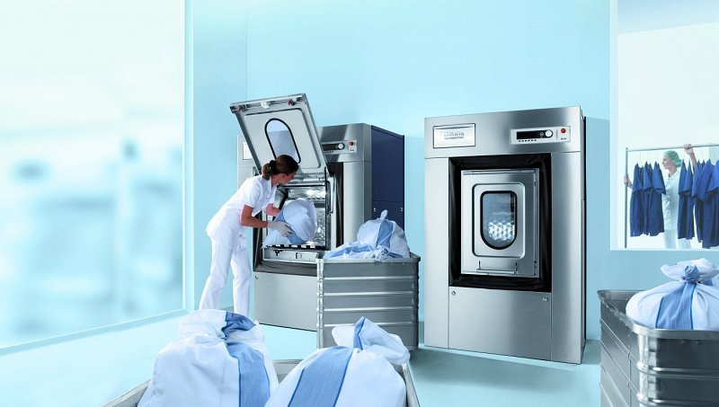 Barrier Washers in a Laundry