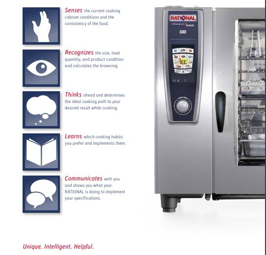 Combi Oven - Rational 61 Self Cooking Centre