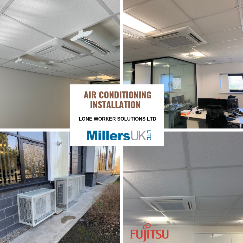 Lone Worker Solutions Fujitsu Air Conditioning Upgrade