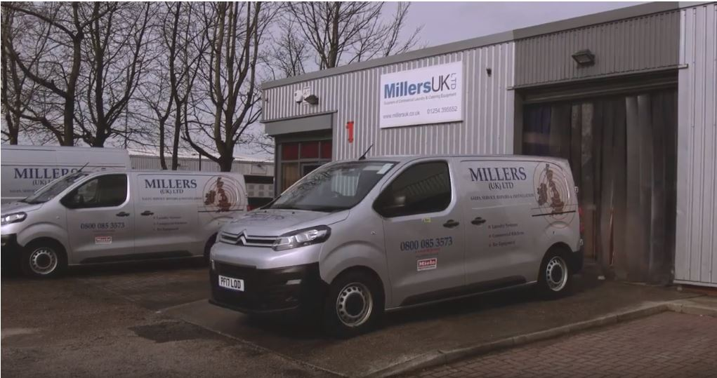 Where In The UK Do Millers UK Supply and Install Commercial Washing Machines?