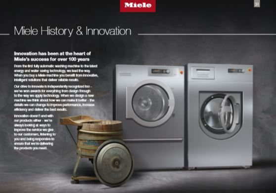 commercial washing machines millers uk