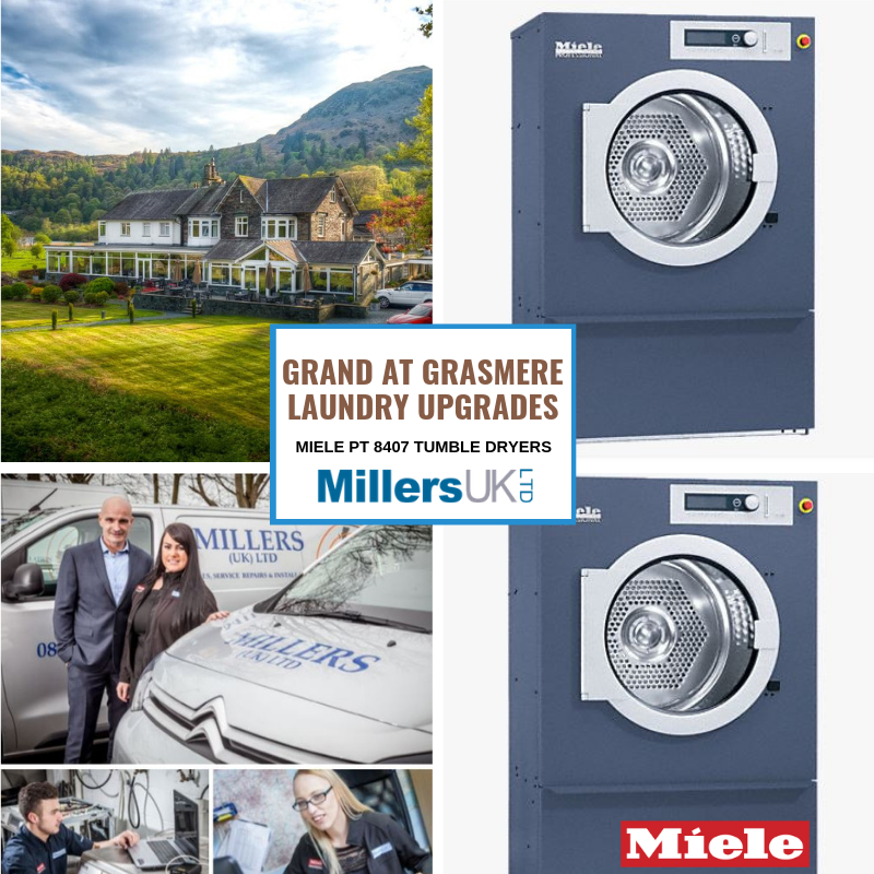 Grand At Grasmere Upgrades Laundry With Miele Professional Dryers