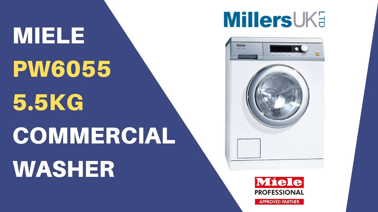 Miele 5.5kg Washer PW6055