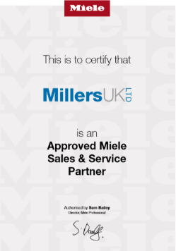 Miele Dealer  UK - Millers uk