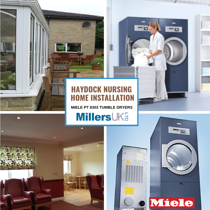 Laundry Miele PT 8303 Dryer Installation At Haydock Nursing & Residential Home