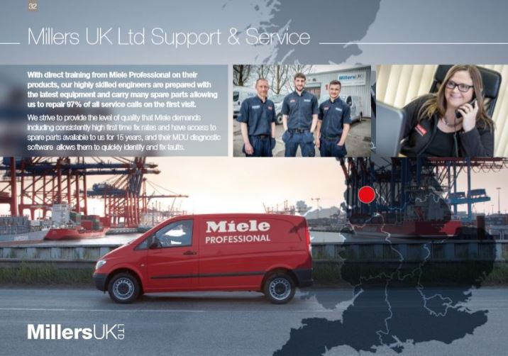 Miele Repairs & Miele Service Engineers for North West UK