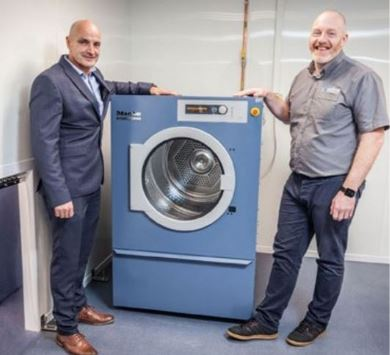 Millers UK Provides A Bespoke Laundry Solution For Select Medical