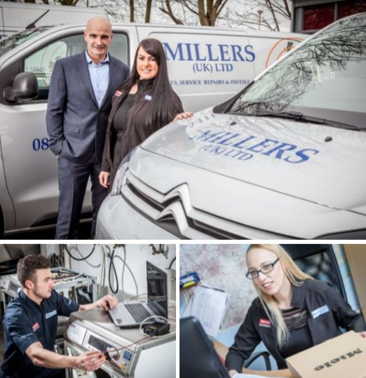Millers UK Laundry Catering Installation