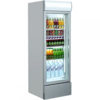 Single Dr Upright Display Fridge SL